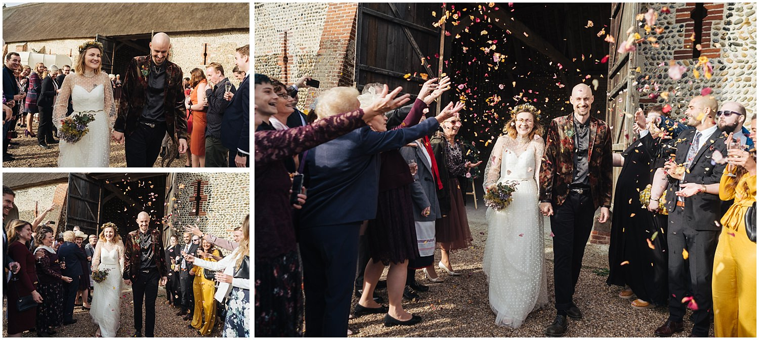 waxham barns, Sea Palling, barn wedding, rustic, north norfolk, wedding photography